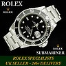 Stainless Steel mens Rolex Submariner Date ref 16610 box & papers - Box & Papers - www.itemsofbeauty.co.uk - Telephone 01342 323982 - Open 6 days a week to the public.