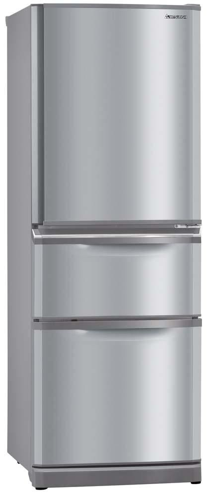 Mitsubishi 405 Litre Fridge Freezer Stainless Steel $1999.99 from Noel Leeming