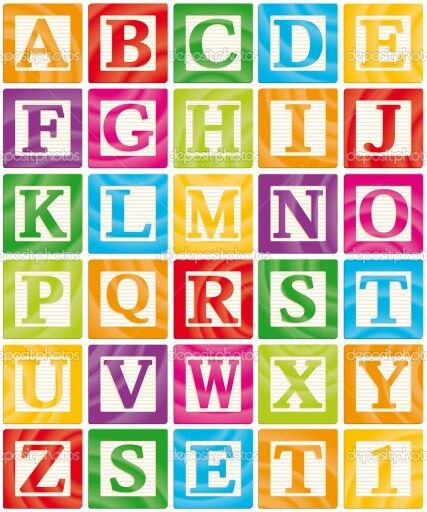 Baby Blocks Babies And Alphabet Letters On Pinterest