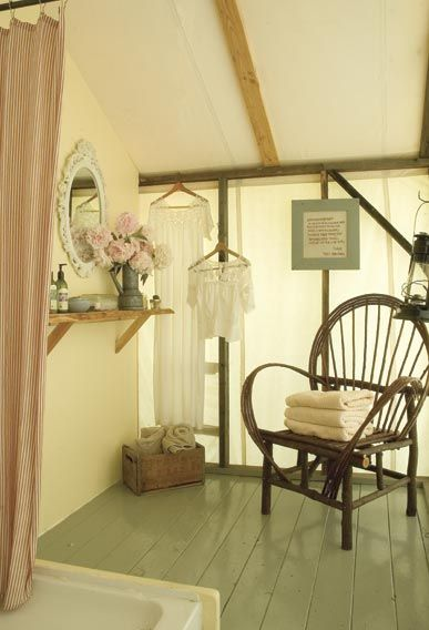 All guests use an outhouse, and may shower in our one-of-a-kind farmgirl shower houses.