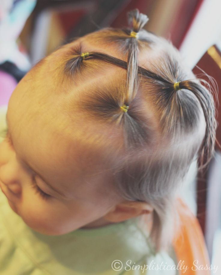Toddler Hairstyle by Simplistically Sassy