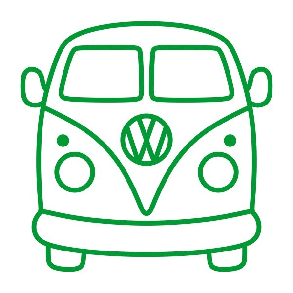 VW Volkswagen Bus Van Cuttable Design Cut File. Vector, Clipart, Digital Scrapbooking Download, Available in JPEG, PDF, EPS, DXF and SVG. Works with Cricut, Design Space, Sure Cuts A Lot, Make the Cut!, Inkscape, CorelDraw, Adobe Illustrator, Silhouette Cameo, Brother ScanNCut and other compatible software.