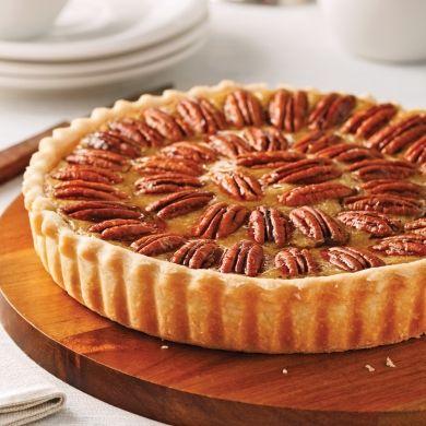 Tarte aux pacanes - Desserts - Recettes 5-15 - Recettes express 5/15 - Pratico Pratique