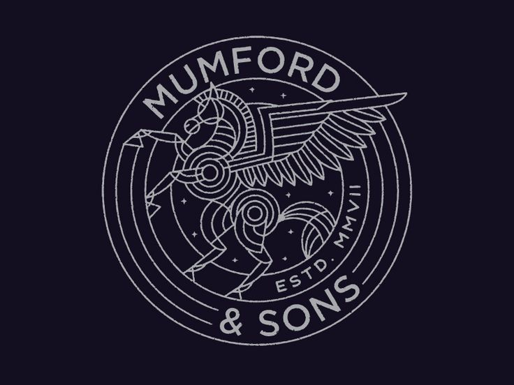 Mumford & Sons Pegasus by Brian Steely