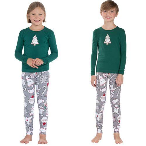 Ensemble-pyjamas-Noel-assortis-famille-Femmes-Bebe-Vetements-nuit-pour-enfants
