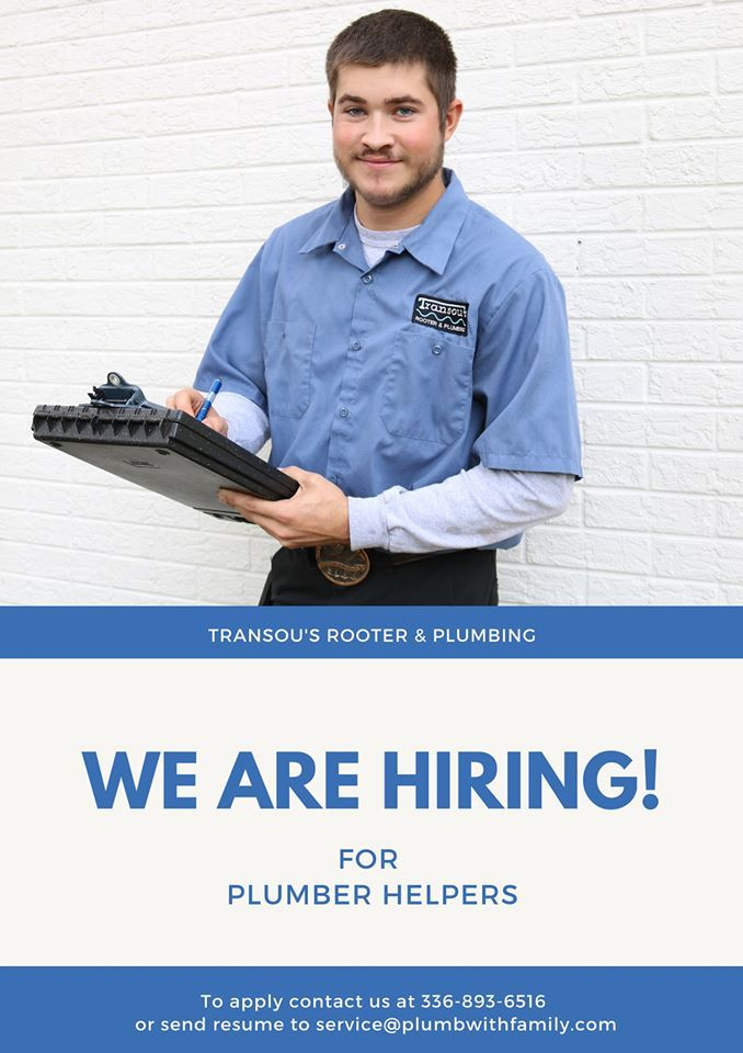 We Are Hiring For Dedicated Helpers Who Are Looking To Get Into The Plumbing Business No Experience Needed Just Driven Rooter Plumbing We Are Hiring Plumbing