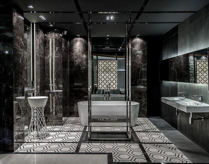 Ekspozycja Max-Fliz marmurowa łazienka ekskluzywna z wanna. Łazienka Najwyższej…