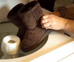 How to Clean Ugg Boots in a Washing Machine | eHow