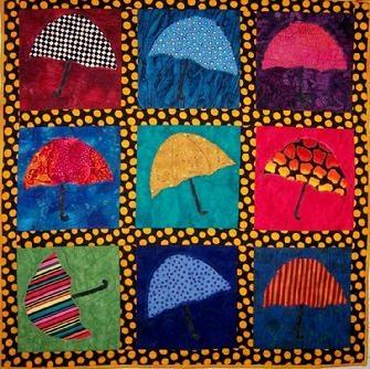 Cute umbrella quilt!