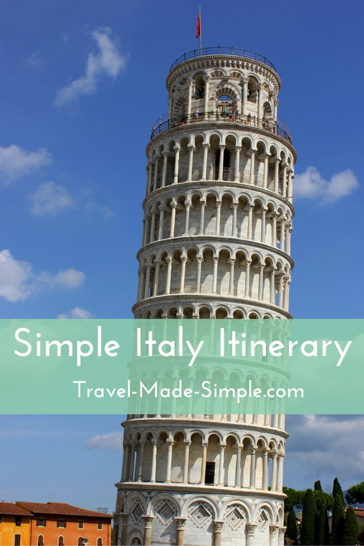 When planning your Italy itinerary, pick a few of the highlights and don't rush. Enjoy Italy's beauty, food, culture and history one piece at a time.