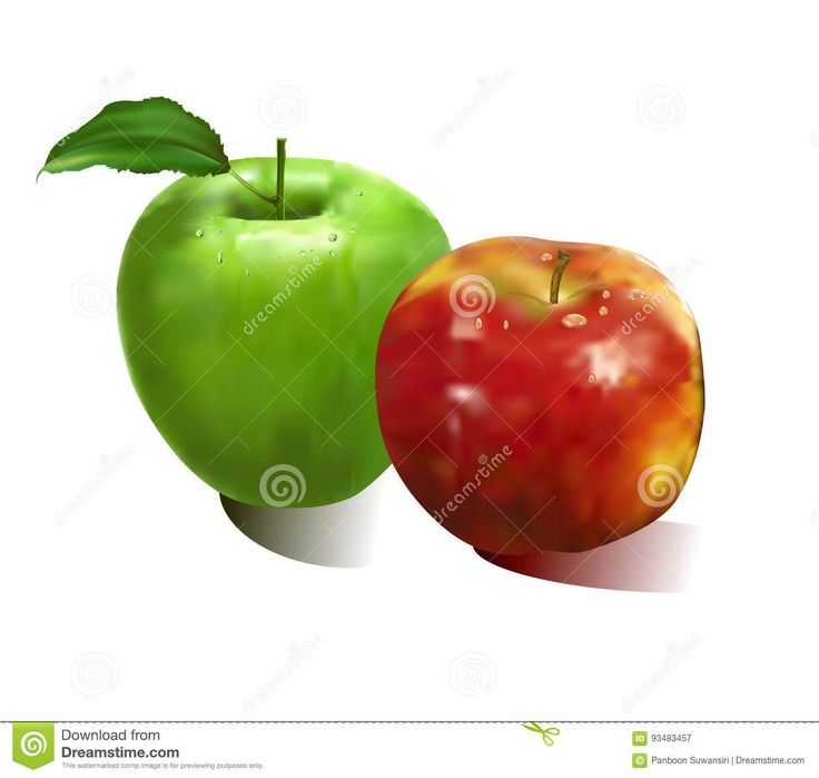 Apple Red & Green - Download From Over 60 Million High Quality Stock Photos, Images, Vectors. Sign up for FREE today. Image: 93483457