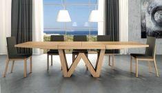Tavoli Sala da Pranzo di design : Modello WENDA legno. Visita il nostro catalogo online dove potrete scoprire bellissimi design per il vostro arredamento. Top Home, il tuo negozio online. www.decorazioneon...