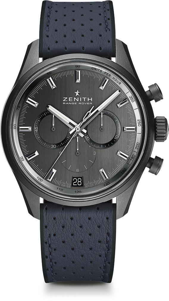 La Cote des Montres : La montre Zenith El Primero – Range Rover – 42 MM - Zenith & Land Rover, deux légendes célèbrent une année mythique: 1969