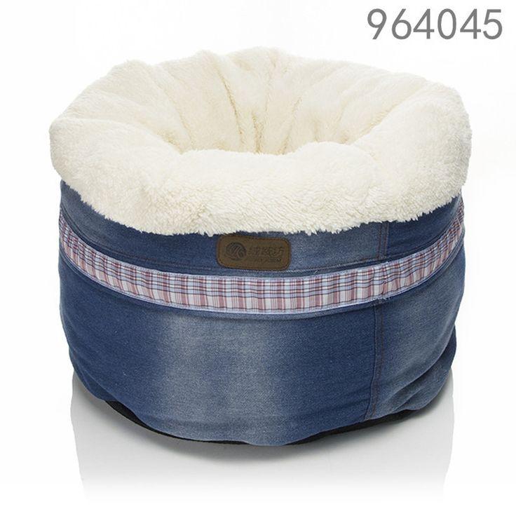 En gros faux fourrure lit pour chien avec odm conception