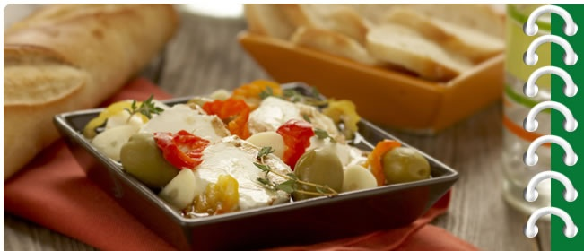 Marinated Goat Cheese | FOODS & DRINKS | Pinterest