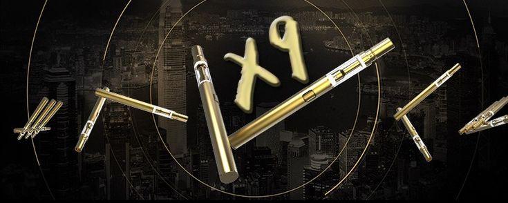 Disposable Vaporizer Vape Pen for Oil X9 No Nicotine Starter Kit http://rejoicecig.com sales@rejoicecig.com