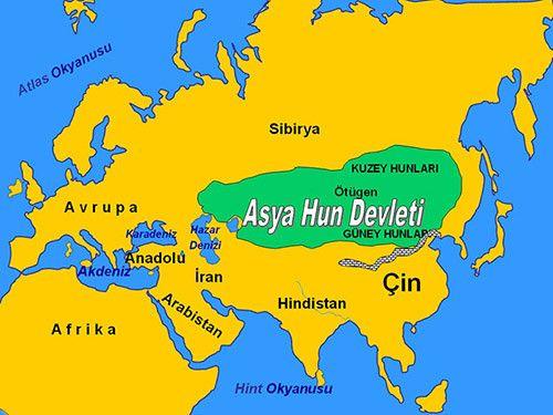 Asya Hun Devleti ve Tarihi