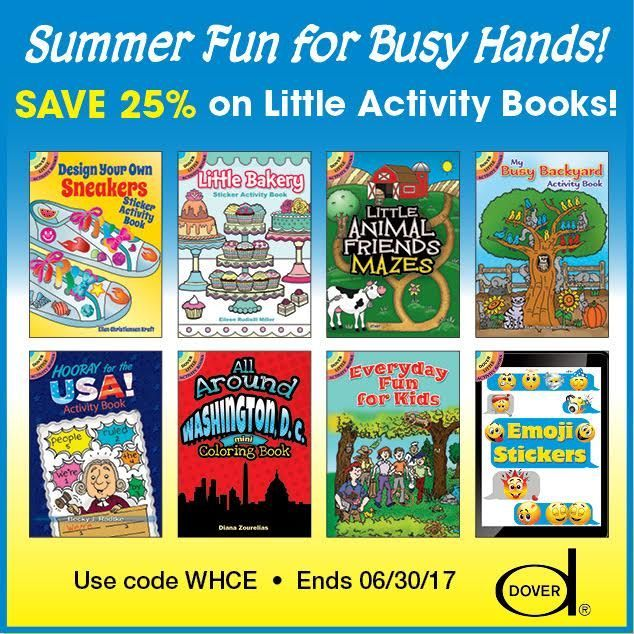 25% Off Dover Little Activity Books - As Low As $1.50! from #sponsor @doverpublications