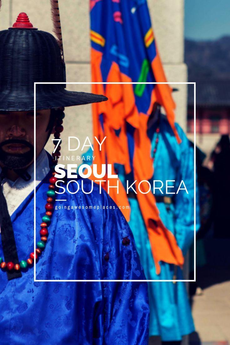 Full 7 day itinerary of Seoul, Korea