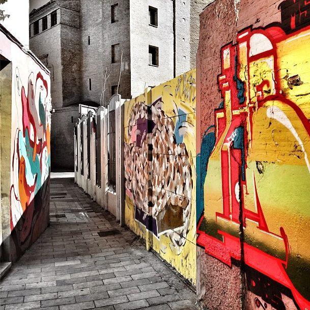 Graffiti - El tubo (Zaragoza)