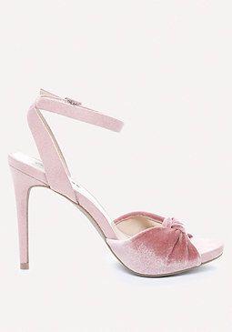 Velvet High Heel Sandals from Bebe R980,00