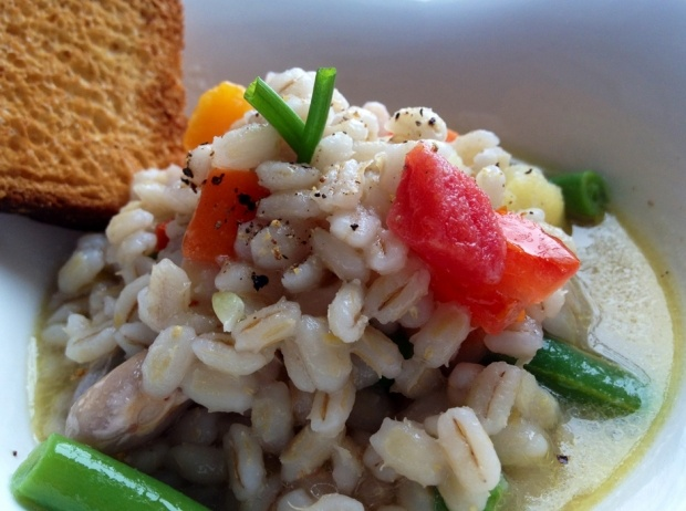 Minestrone d'orzo