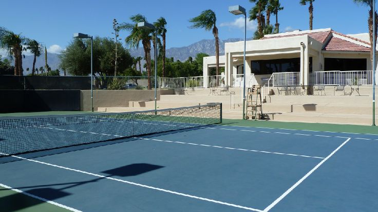 Desert Princess has an exhibition court and a club house with a fitness center.  Adjacent to the courts are a spa with a lap pool.