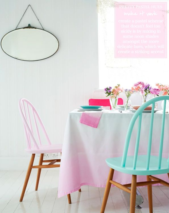 Paint the tops | Stylist: Charlotte Love's Pretty Pastels – Bright.Bazaar
