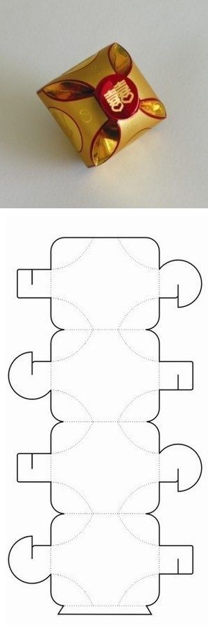 doosje maken (patroon)