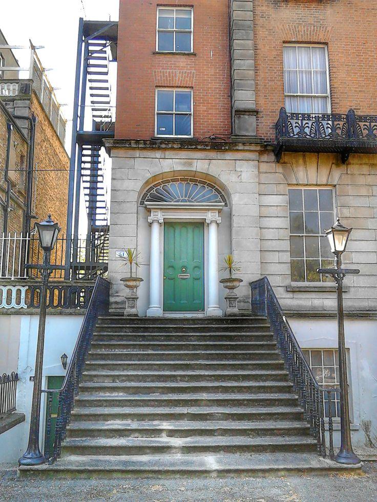 doorway, Ballsbridge, Dublin. Doorway