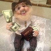 """Куклы и игрушки ручной работы. Ярмарка Мастеров - ручная работа Домовой """" счастье привалило """". Handmade."""