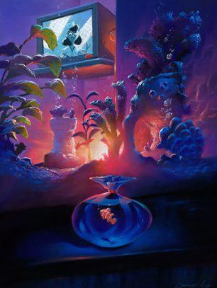 Visual Development from Finding Nemo  - disney concepts & stuff