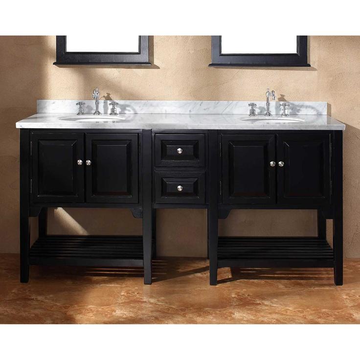 Web Photo Gallery James Martin Solid Wood Mesaana Double Bathroom Vanity With A Countertop