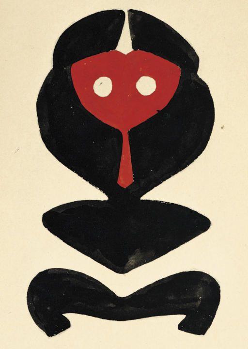Max Ernst, Ohne Titel, circa 1949