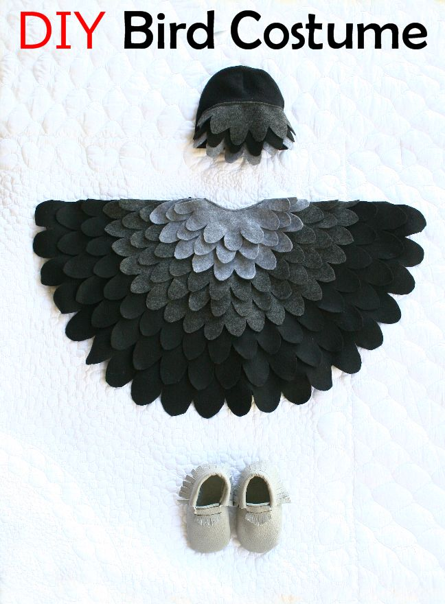 Bird Costume DIY                                                                                                                                                                                 More
