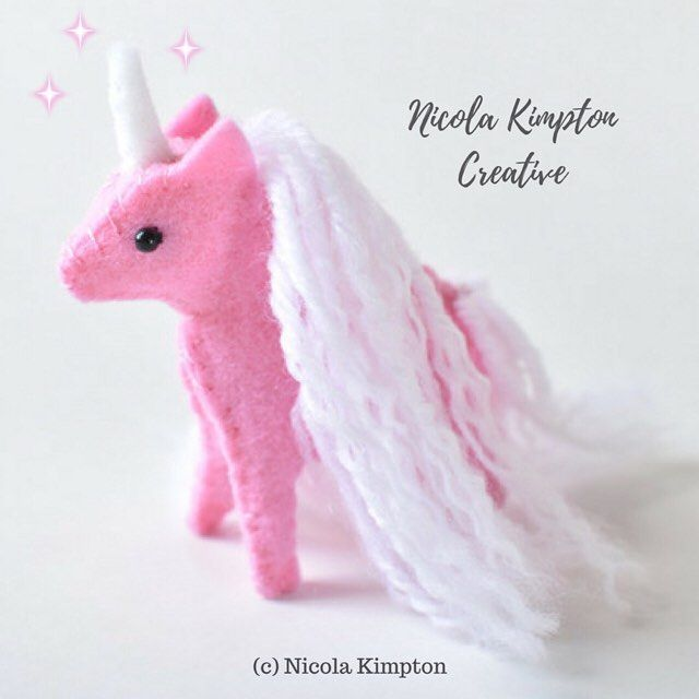 Hope you are having a magical day. ✨ Here's another adorable unicorn I just finished. 🦄💕 This little cutie is just 3 inches tall. Aw 💖💕 . Handmade by myself modified from a pattern by @delilahiris . #nicolakimpton #unicorntribe #unicorn #horses #myunicornlife #miniatureunicorn #unicornart #rainbowhair #felt #horse #unicorns #kawaii #horselover #unicornlover #miniaturehorse #unicornsarereal #horsesofinstagram #unicornlife #kawaii #unicornlove #angels #whitehorse #newzealand #homedecor…