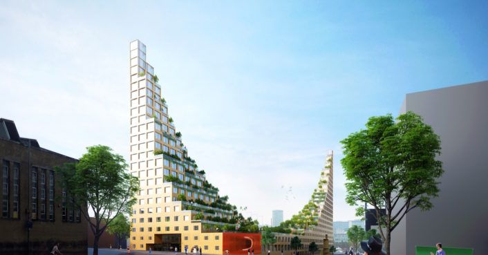 Lush gardens hang from dramatic student housing proposed for Birmingham http://inhabitat.com/lush-gardens-hang-from-dramatic-student-housing-proposed-for-birmingham/?utm_campaign=crowdfire&utm_content=crowdfire&utm_medium=social&utm_source=pinterest