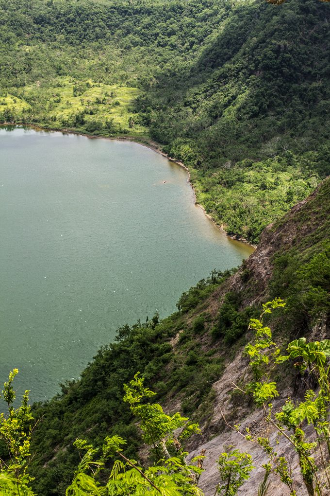 Hiking Taal Lake in the Philippines