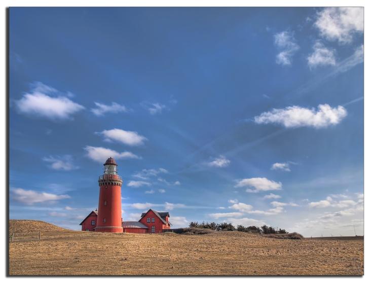 Bovbjerg Lighthouse by Henrik L Andersen, via 500px