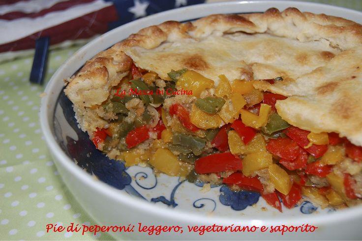 Pie di peperoni: leggero, vegetariano e saporito