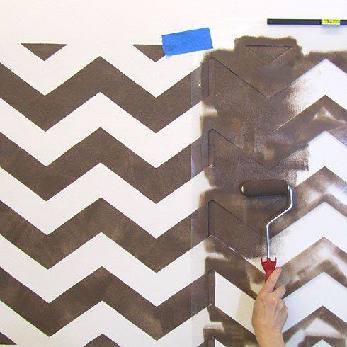 chevron template for walls - best 25 chevron stencil ideas on pinterest chevron