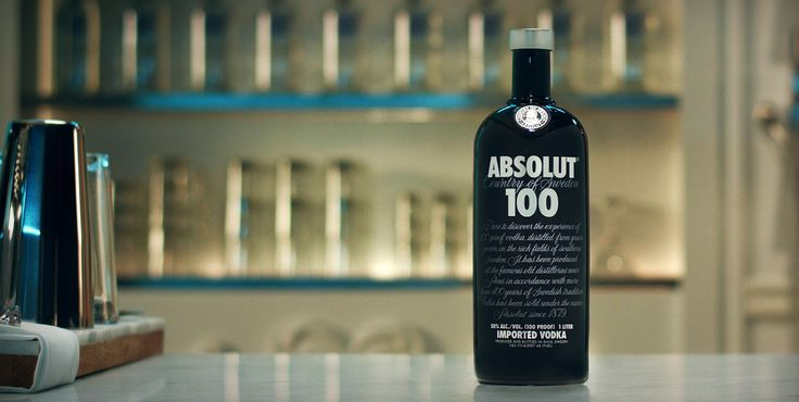 Absolut 100 is an intense, yet exceptionally smooth super premium vodka. Even a small amount gives the total Absolut 100 experience. The stylish black bottle stands out from the ordinary, enhancing the luxurious treat.