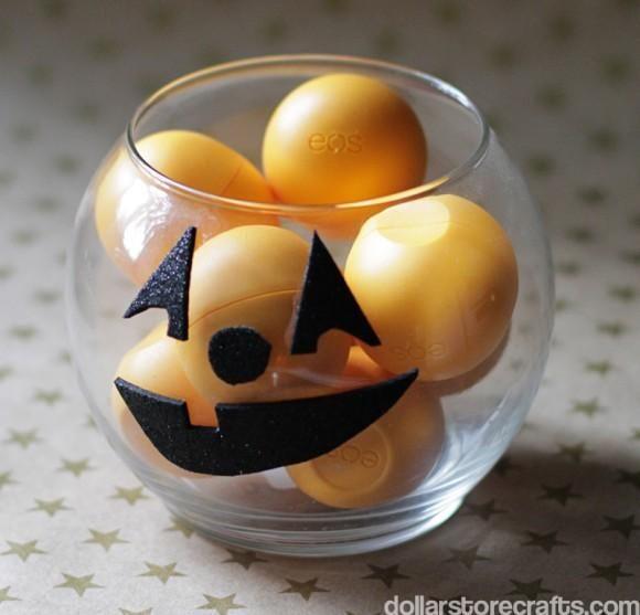 DIY Hallowen: DIY Halloween Jack-o-Lantern Bowl