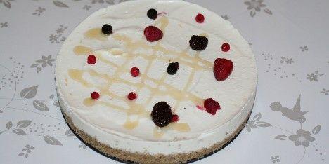 Opskrift på ostekage som er både frisk og mild. Der er godt med knas i bunden og det smager fortræffeligt. Kagen har klassiske italienske ingredienser.