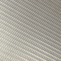 Steel Mesh Aluminum Finish