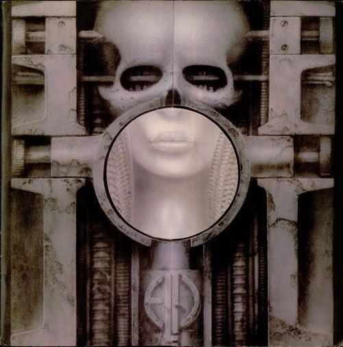 ELP's Brain Salad Surgery album cover (Lovecraft)