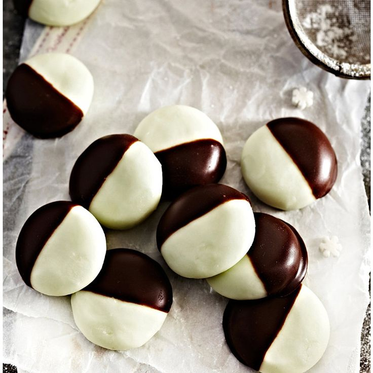 Peppermint Creams, egg included