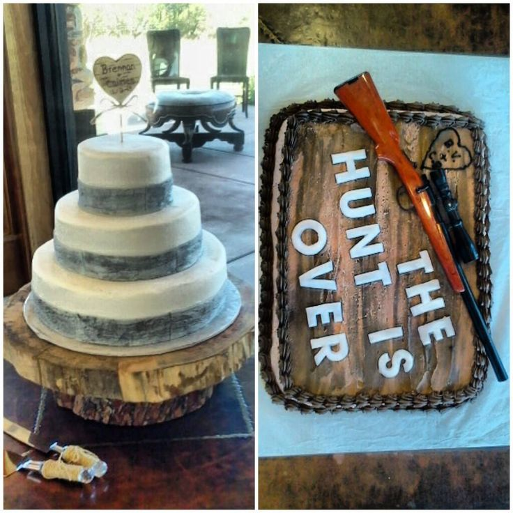 Rustic/Country Themed Wedding Cakes
