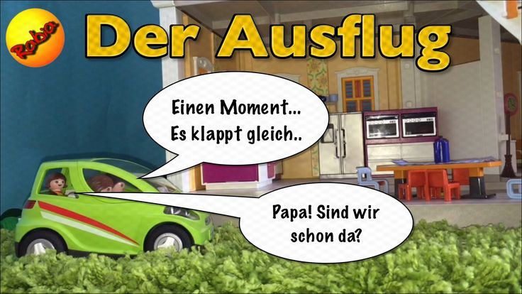 Playmobil Video Film Deutsch - Der Ausflug - Ganzer Kinderfilm