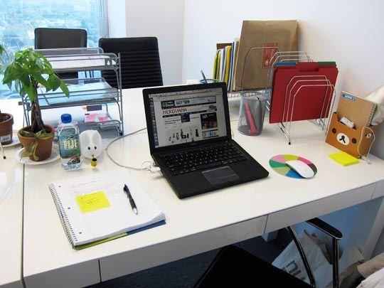 138 best desk organization images on pinterest - Work Desk Organization Ideas